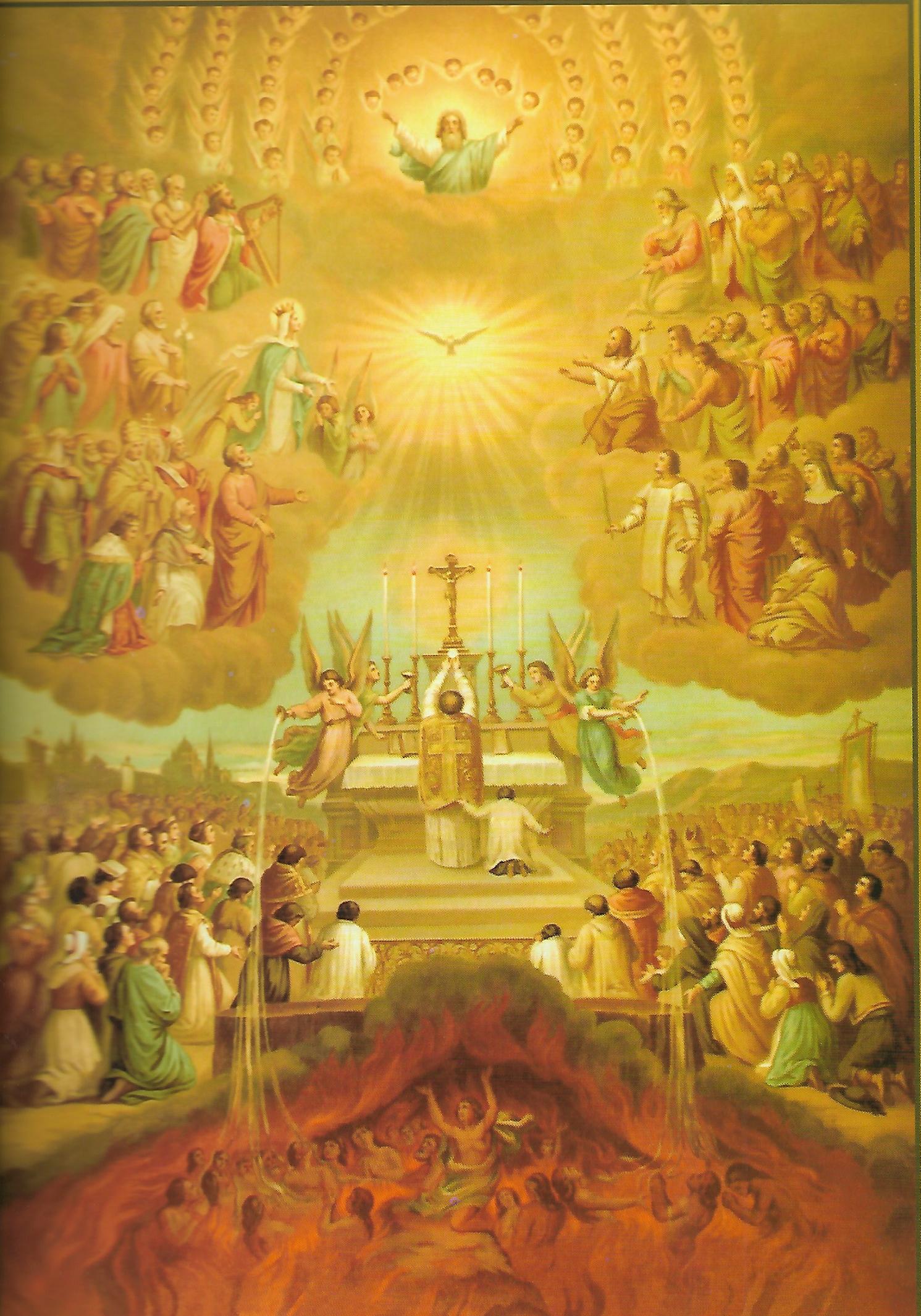 Notre Dame de Fatima et les âmes du purgatoire – Militia Immaculatae